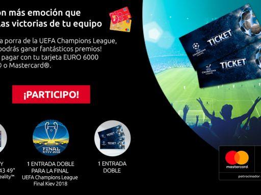 Porra EURO 6000 – Vuelta Octavos de Final de la UEFA Champions League
